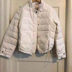 White XL Calvin Klein Puffy Coat